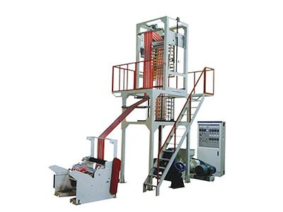 double color stripe film blowing machine