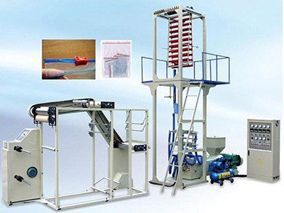 ziplock film blowing machine