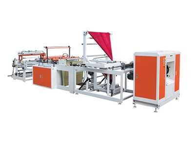 garbage bag on roll making machine with auto roll change