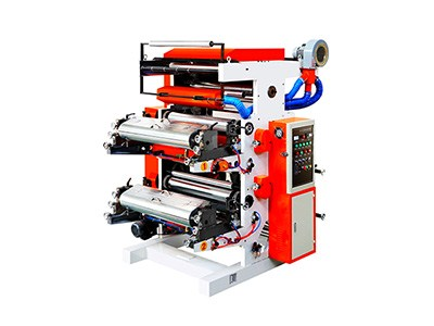 2color flexographic printing machine
