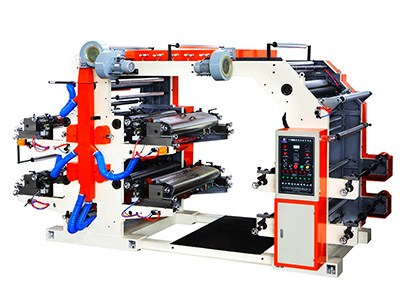 4color flexographic printing machine