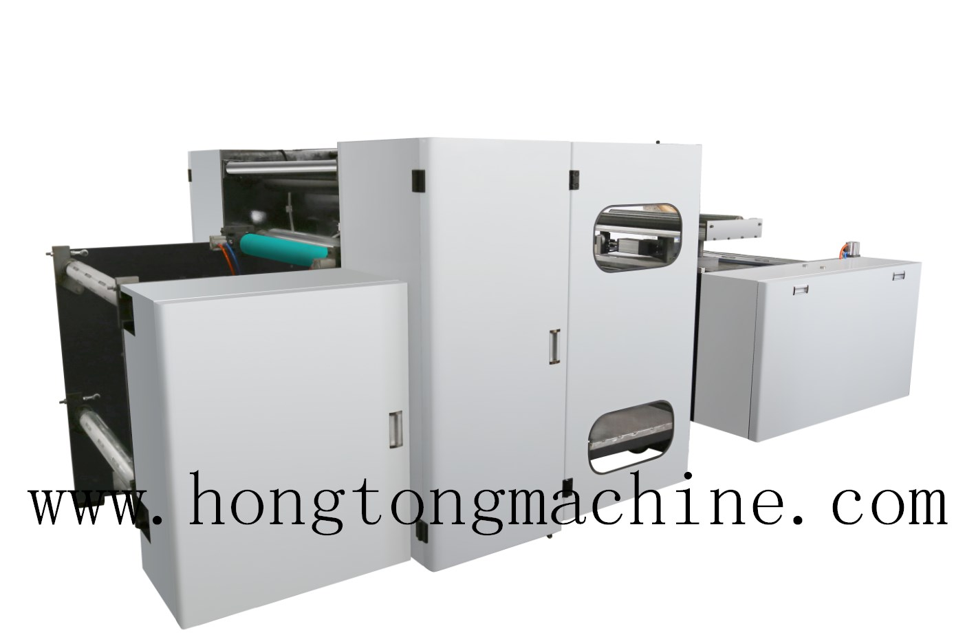 2color gearless high speed printing machine