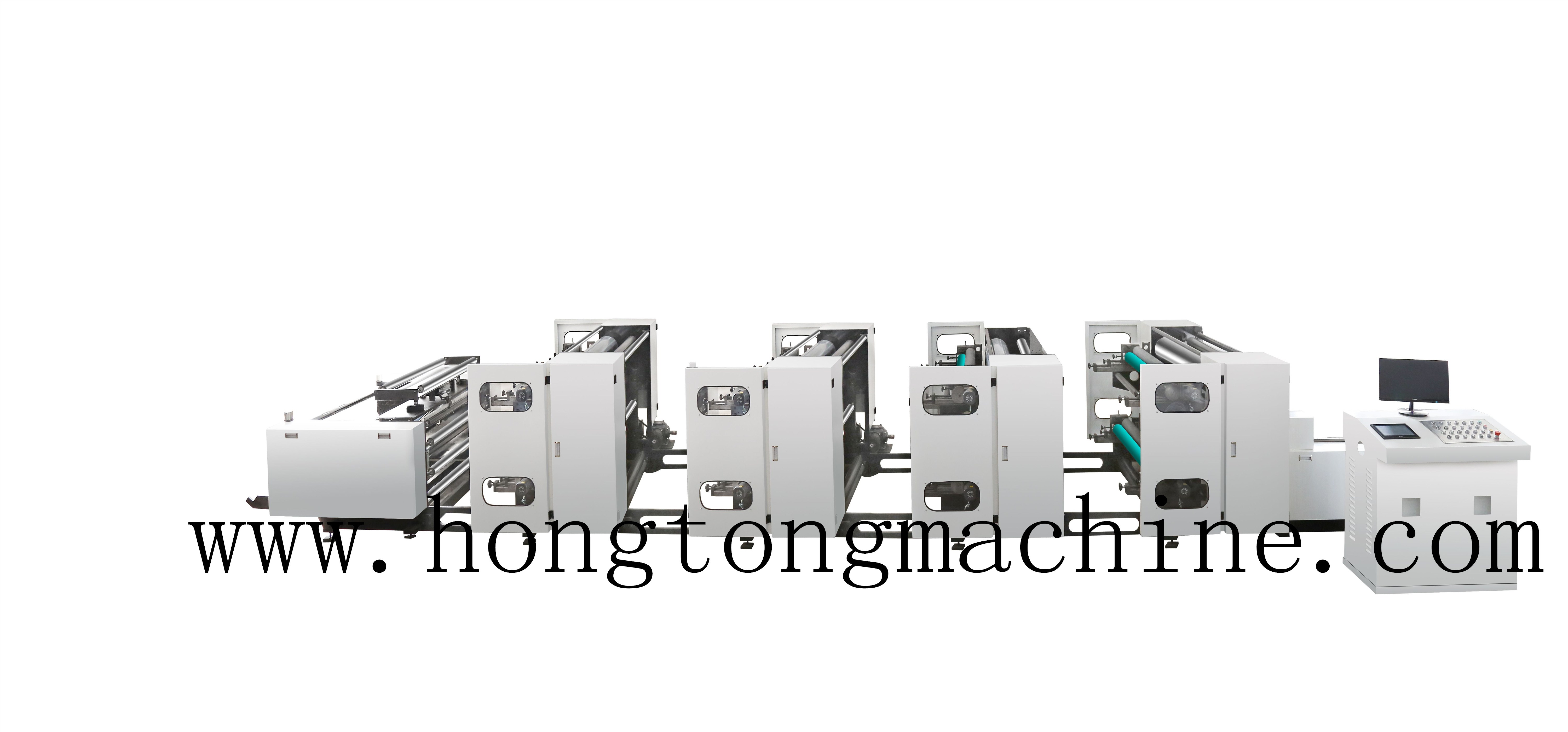 8color gearless high speed printing machine